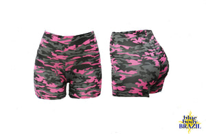 Camo Rosa Shorts (Thick/Light Supplex)