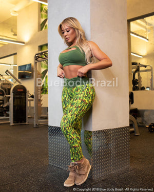 Brazil Vibes Leggings (Light Supplex)