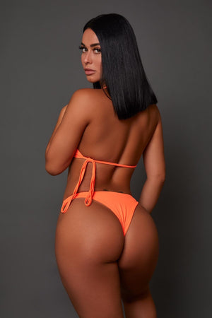 Flash Orange Swimwear (2 Piece Set)
