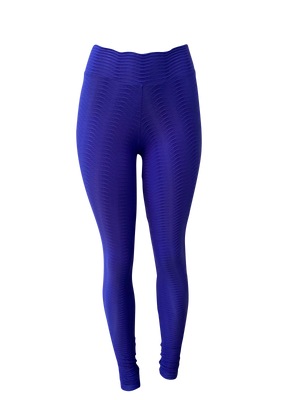 Royal Purple Fish Scale Leggings