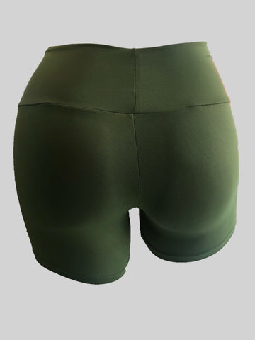 Olive green shorts (Light Supplex)