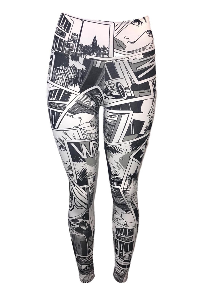 Cartoon Fever Light Supplex Leggings