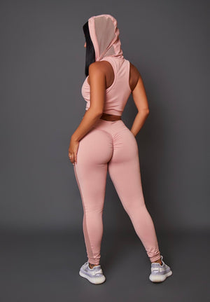 Blush Crush Leggings (Thick Supplex)