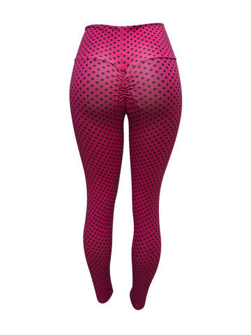 Spotted Pink Leggings (Light supplex)