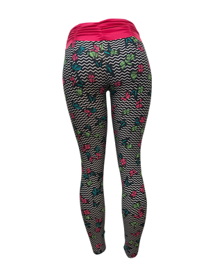 Pink Butterfly Light Supplex Leggings
