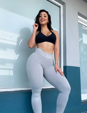 Light Grey BumBum Leggings