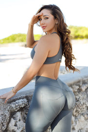 BBBFit Grey Top (Light Supplex)