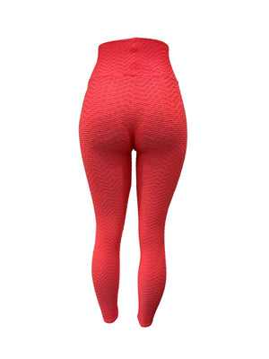 Salmon Pink Leggings (Scrunchy Supplex)