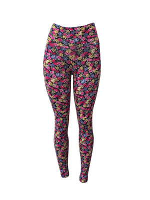 Flowers by the dozen Leggings (Light Supplex)