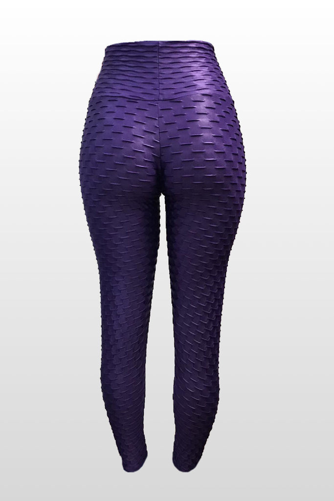 Eggplant Leggings (Scrunchy Supplex)