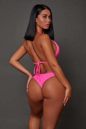 Pretty in Pink Swimwear (2 Piece Set)