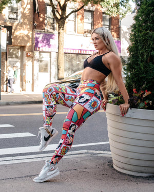 Cartoonish Leggings (Light Supplex)