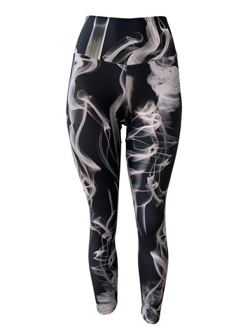 Vapor Black Leggings (Light Supplex)