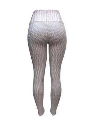 Top Love White Leggings (Scrunchy Supplex)