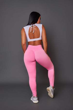 Bubble Gum Leggings (Thick Supplex)