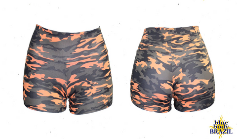 Autumn Camouflage Shorts (Light/Thick Supplex)