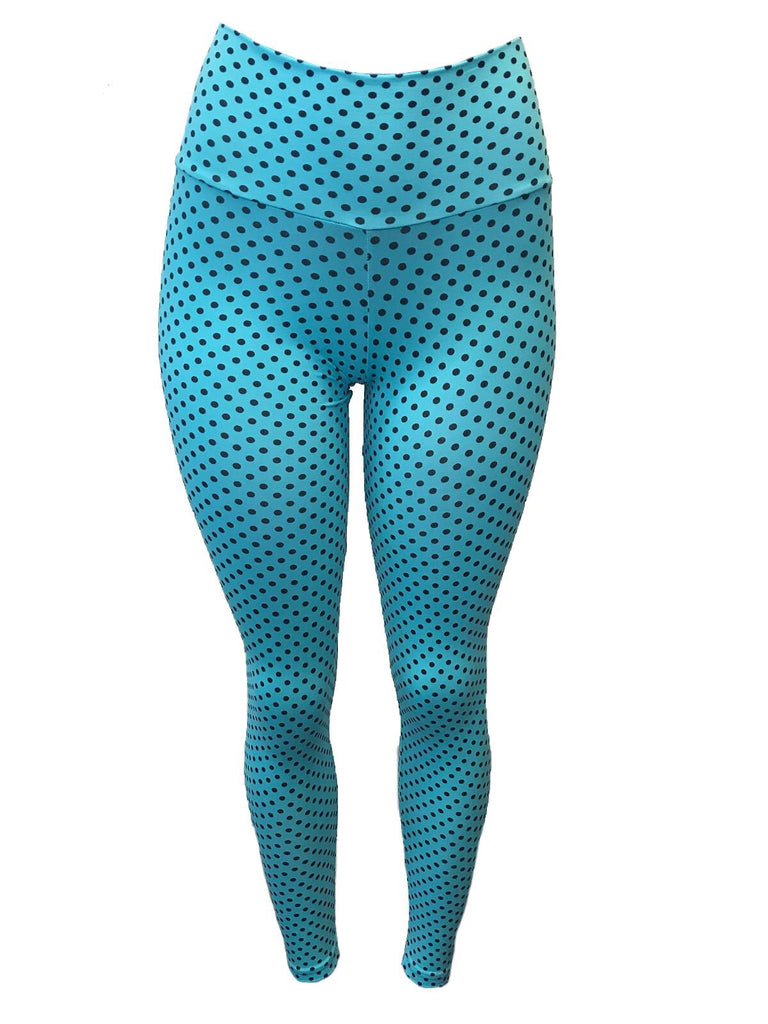 Empina Bumbum Polka dot Light Supplex Leggings