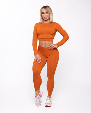 Spicy Pumpkin Bum Bum Leggings
