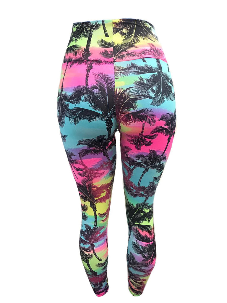 Palm Rise Leggings (Light Supplex)