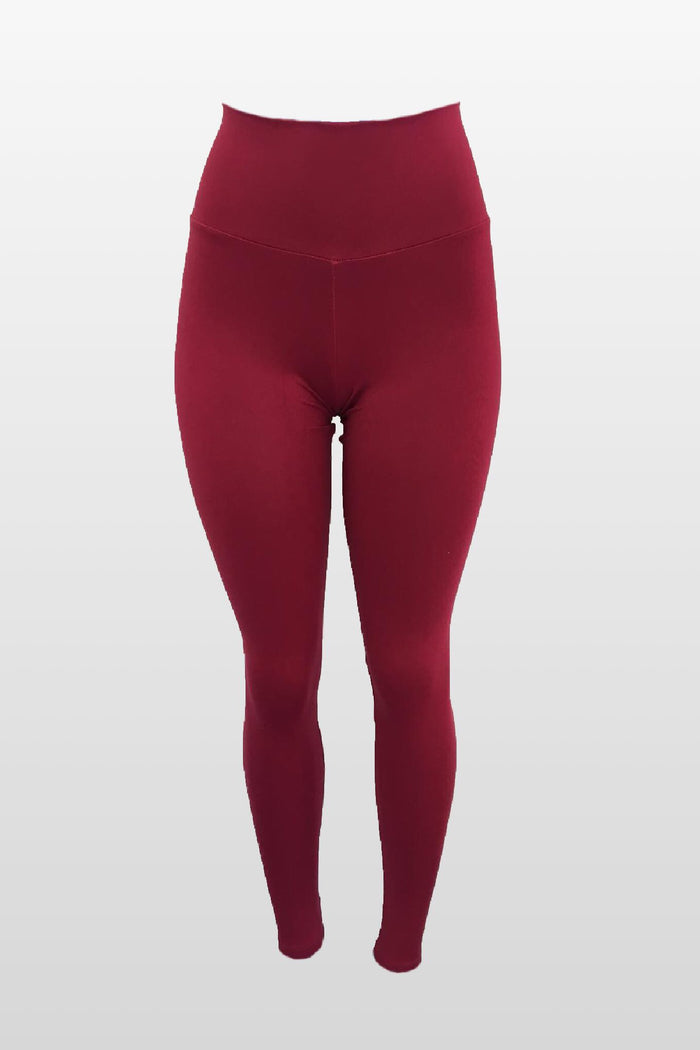 Cranberry Leggings (Thick Supplex)