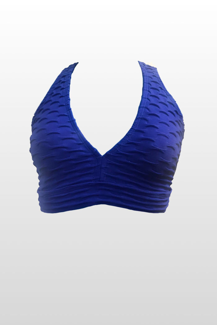 Royal Blue Top (Scrunchy Supplex)