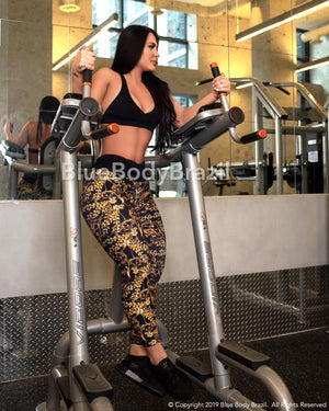 Versace Inspired Leggings (Light Supplex)