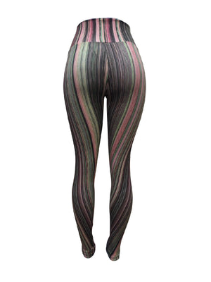 Mystery Stripe Leggings (Light supplex)