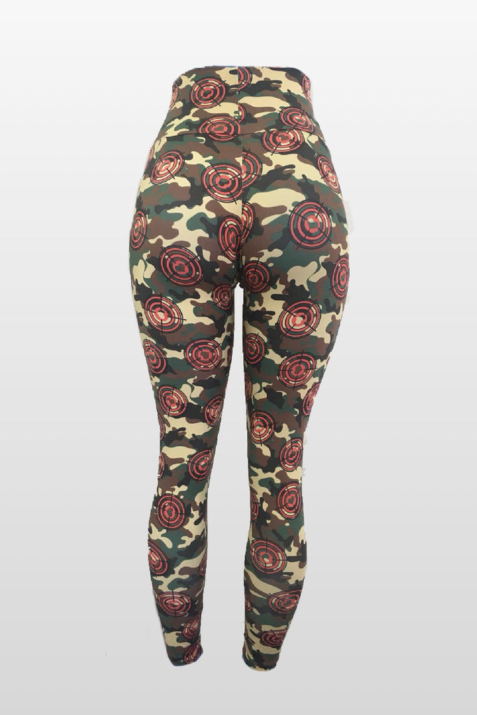 Bullseye Target Leggings (Light Supplex)