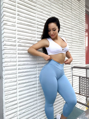 Baby Blue BumBum Leggings
