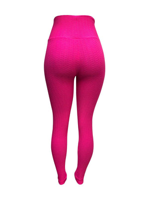 Vibrant Pink Leggings (Scrunchy Supplex)