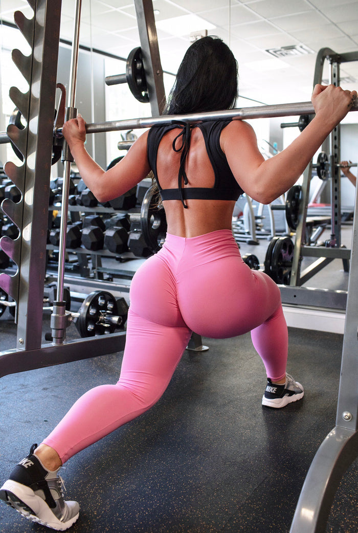 Barbie Pink Thick Supplex Leggings