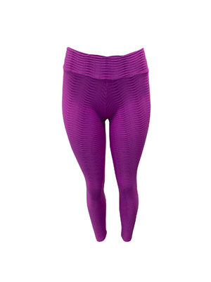 Purple Fish Scale Leggings