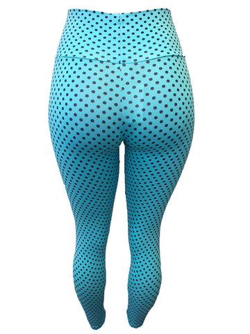 Empina Bum Bum Polka dot Light Supplex Leggings
