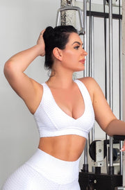 White Top Love Top (Scrunchy Supplex)