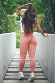 Peach Nue Bum Bum Leggings (Light Supplex)
