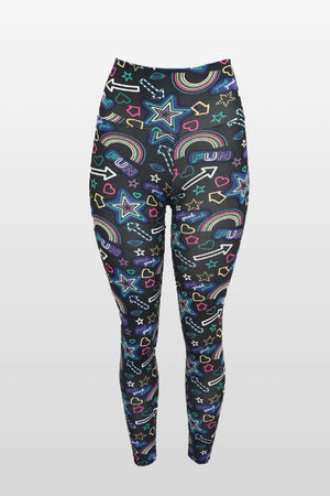 Fun Stars Leggings (Light Supplex)