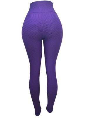 Purple Girl Leggings (Scrunchy Supplex)