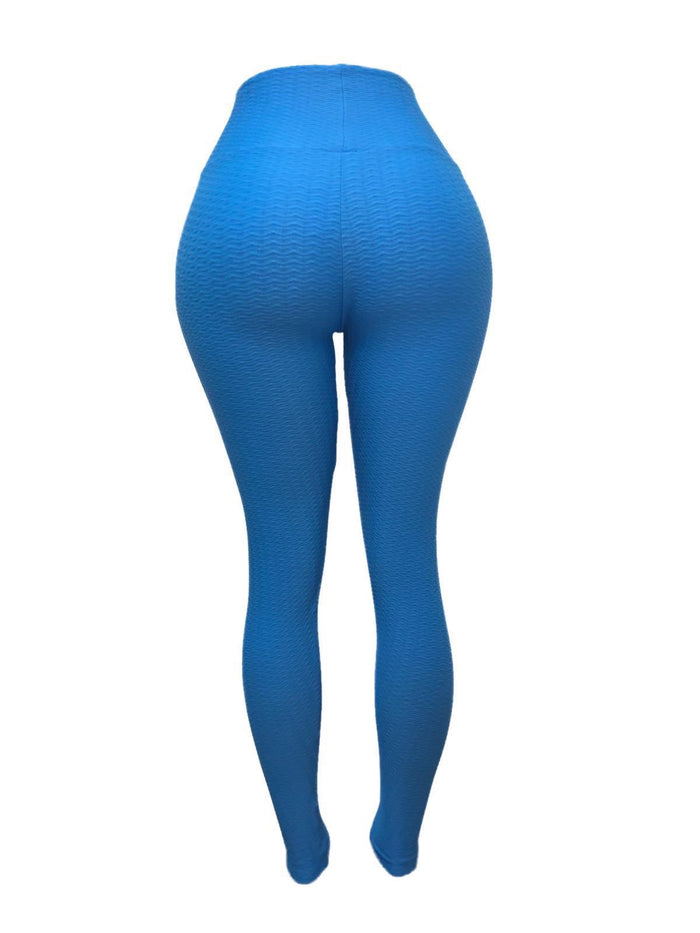 Blue Girl Leggings (Scrunchy Supplex)