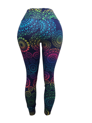 Chinese Vibes Leggings (Light Supplex)