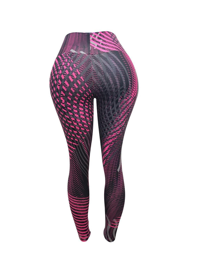 Ultra Pink Vibes Leggings (Light Supplex)