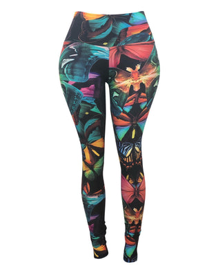 Butterfly Lili Leggings (Light Supplex)