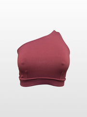 Single Shoulder Top (9 Color Options)