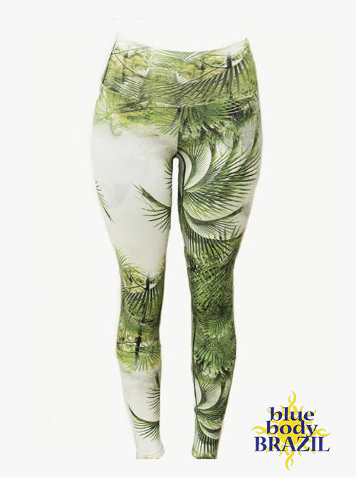 Palm Life Light/Thick Supplex Leggings