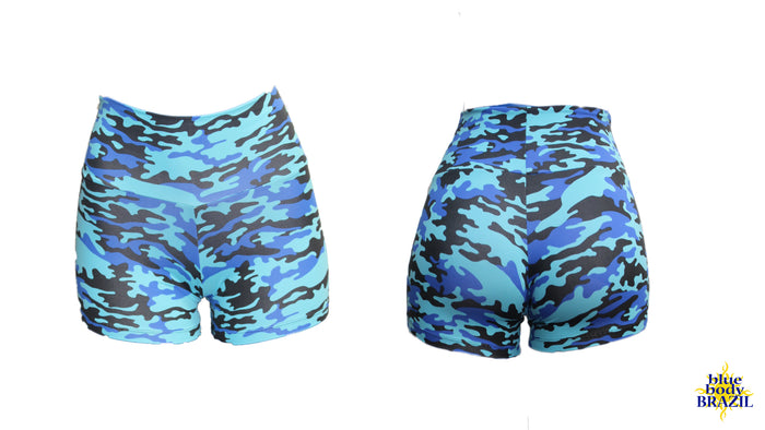 Bleau Camouflage Shorts (Light/Thick Supplex)