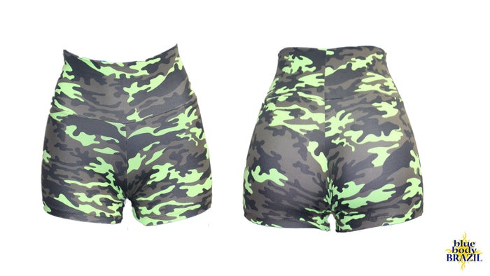 Neon Vibes Camouflage (Light/Thick Supplex)