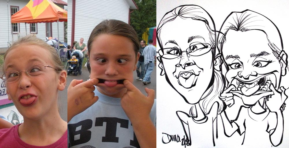 Funny Faces Caricature