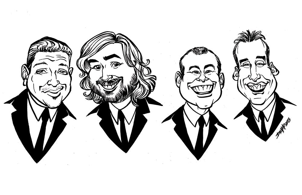 Impractical Jokers Caricature