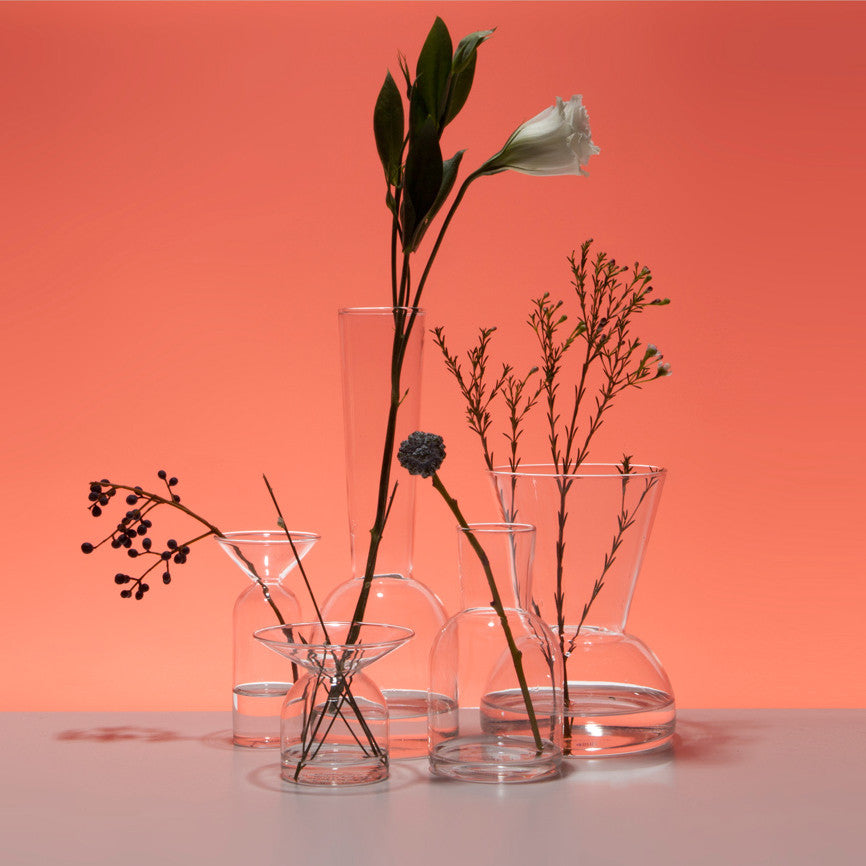 Gather Vases—Clear