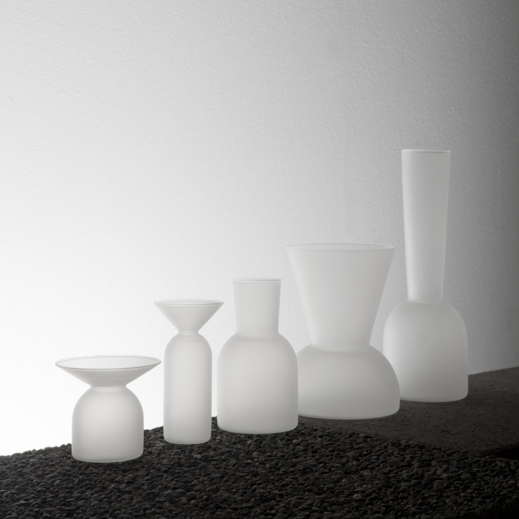 Frosted Gather Vases—Bundle