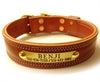 "1 1/2"" DOG COLLAR 2 Ply Extra Heavy Duty with or without Rolled Leather Handle starting at"